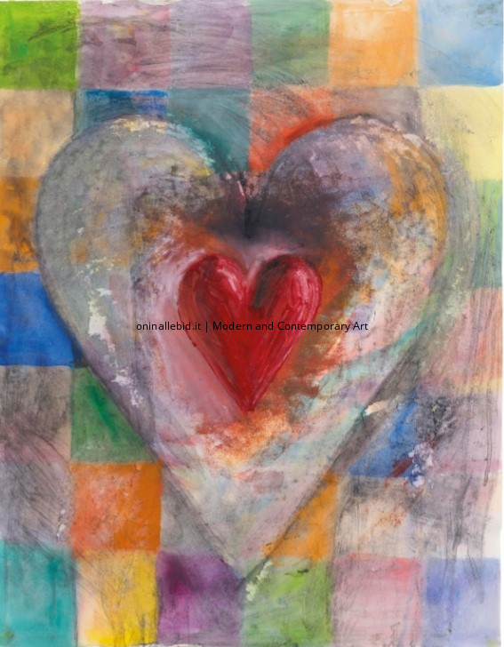 Patched Heart #3 - Jim Dine