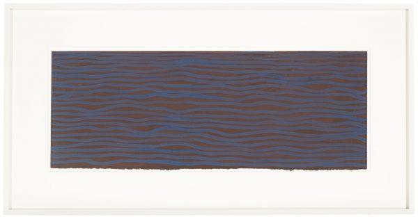 Horizontal Brushstrokes - Sol LeWitt