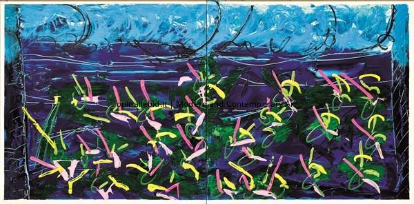 Gigli d'acqua - Mario Schifano 1988